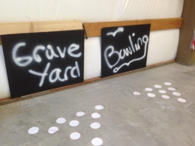 Graveyard bowling